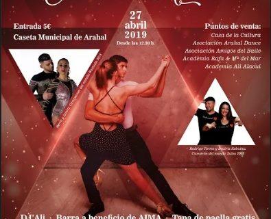 Arahal baila a ritmo latino el próximo 27 de abril