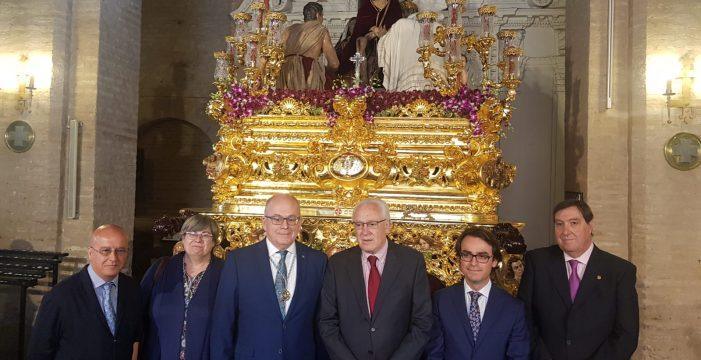 Curioso hermanamiento entre el Consorcio de Transportes y el Cristo del Buen Viaje