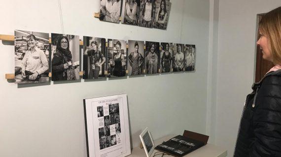 365 mujeres en 365 fotos, la idea de una loreña que ahora se expone en Sevilla