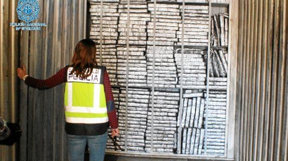 Detenido mientras transportaba 1.500 kilos de hachís en Carmona