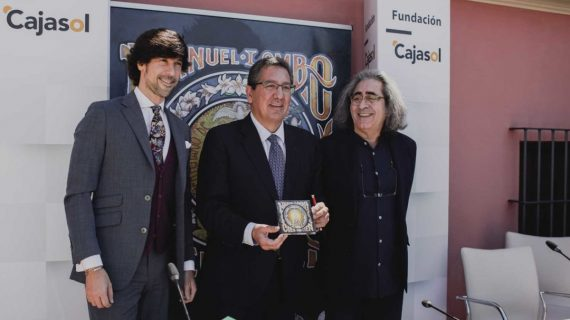 Manuel Lombo celebra por sevillanas los cien años de la Coronación de la Virgen del Rocío