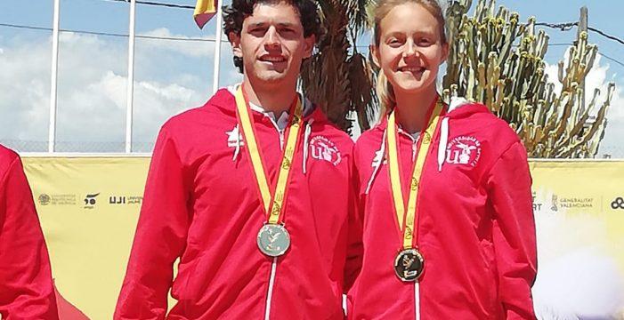 La Universidad de Sevilla consigue tres nuevas medallas en los campeonatos de España