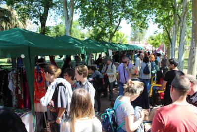 El III Mercado del Libro cerró la XI Semana del Libro de Gines