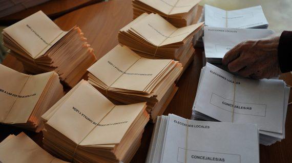 Ampliado el plazo para el voto por correo hasta el viernes a las 14.00 horas