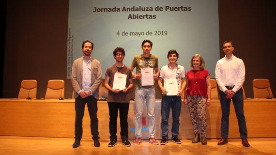 La ETSI premia la excelencia académica de diez jóvenes andaluces