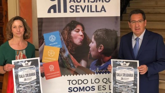 Dos décadas celebrando la Gala Solidaria por el Autismo en Sevilla