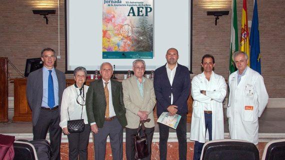 La Asociación Española de Porfiria celebra en el Virgen del Rocío su 20 aniversario