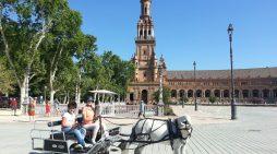 Los carruajes más solidarios de Sevilla
