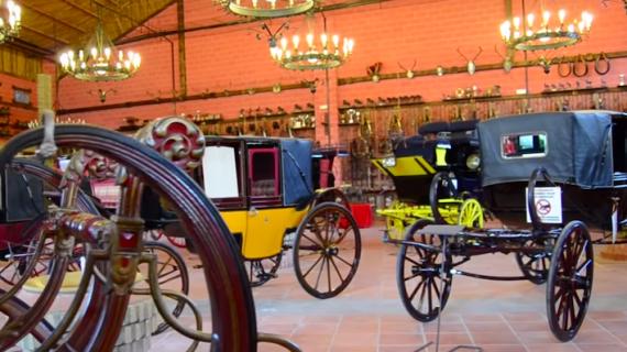 El otro gran museo de carruajes de Sevilla