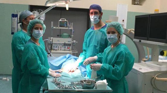 Un profesional del Valme dirige un curso nacional sobre embolización vascular