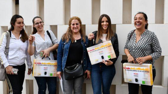 Entregadas ocho viviendas protegidas en régimen de alquiler con opción a compra en la capital