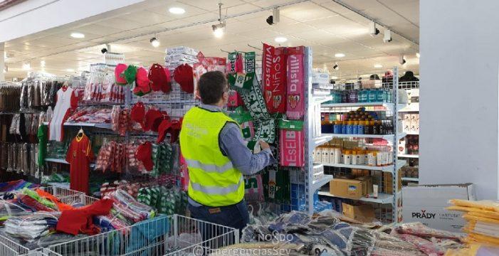La Policía Local interviene 60.000 euros en falsificaciones en el Polígono Industrial Aeropuerto