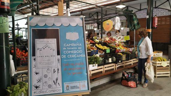 Lora del Río pone en marcha una campaña que fomenta las compras en el comercio de cercanía