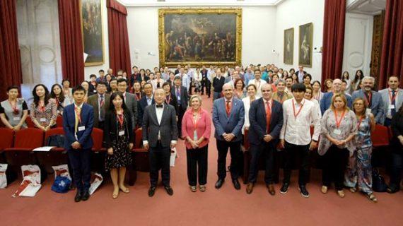 Una delegación de 28 universidades chinas visita la Universidad de Sevilla
