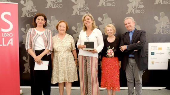 El Plan Integral de Fomento de la Lectoescritura de la US recoge el premio de la Feria del Libro de Sevilla