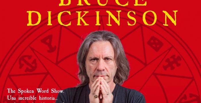 Bruce Dickinson, vocalista de Iron Maiden, presenta su espectáculo en Cartuja Center