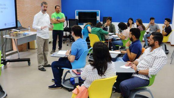 La UPO estrena un nuevo espacio de trabajo colaborativo, de innovación y aprendizaje