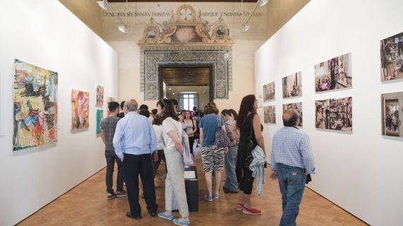 Inaugurada la exposición pictórica de Escena Mobile en el Espacio Santa Clara