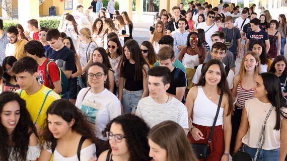 Más de mil estudiantes realizarán la prueba de acceso a la universidad en la Olavide