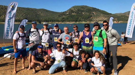 El Club Piragüismo Triana brilla en el Circuito Andaluz de paddle surf