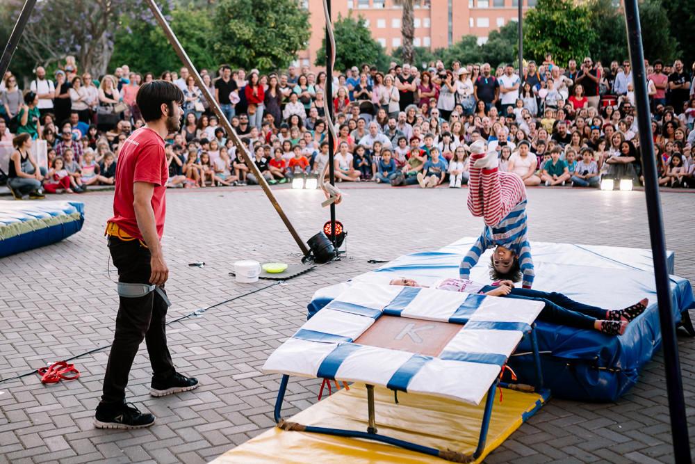"""Gonzalo Andino, director de Circada: """"En el circo hay un sentir mayoritario de solidaridad"""""""