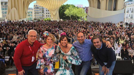 'Vente por Sevillanas' abre el cartel de actuaciones en la Feria de Abril
