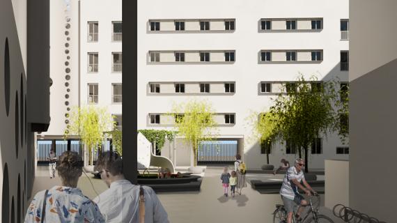 Cisneo Alto contará con un nuevo edificio plurifamiliar de 83 viviendas protegidas