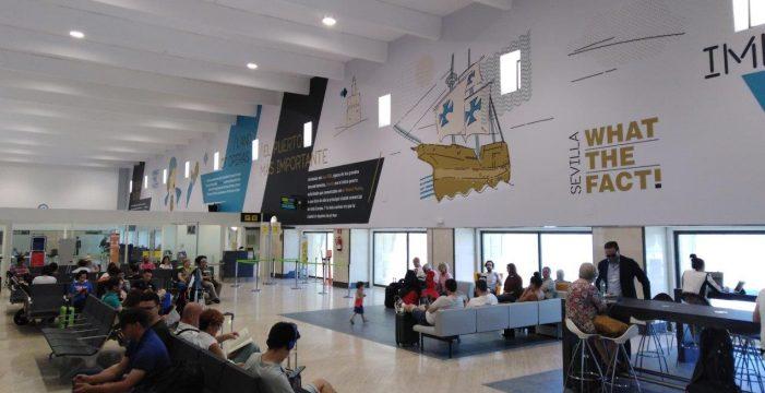 El Aeropuerto de Sevilla cierra el mes de noviembre con casi 600.000 pasajeros