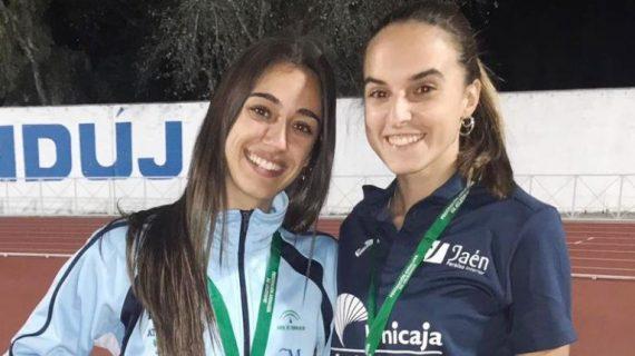 La tomareña Alba Borrero, campeona de Andalucía de relevos