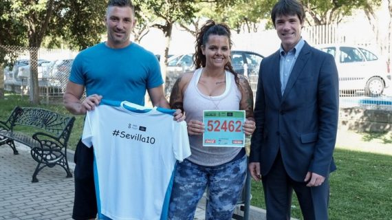 Un total de 8.500 participantes toman la salida en la Carrera Popular Parque de Miraflores