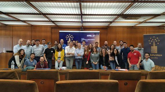 Una treintena de jóvenes se forman en inteligencia artificial en Sevilla