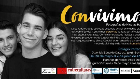 Fundación Cajasol acoge la muestra fotográfica escolar 'Convivimos'