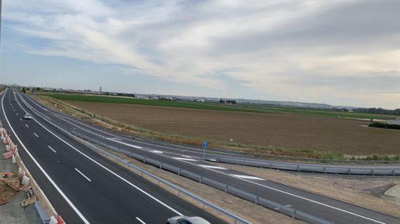 Abiertos dos nuevos ramales en el enlace de la autovía de Acceso Norte a Sevilla