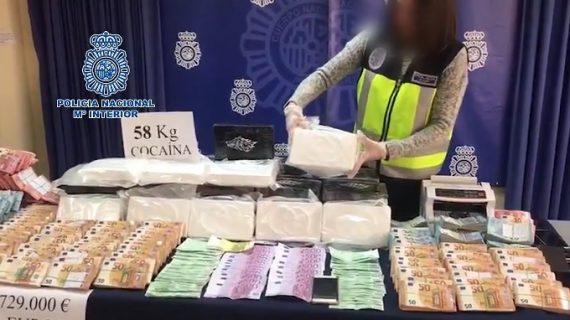 Desarticulada la mayor banda de narcotraficantes de cocaína en Sevilla