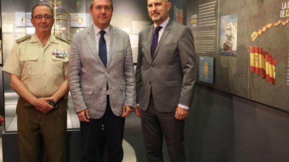 '175 años de nuestra bandera', historia y curiosidades de la insignia se exponen en Sevilla