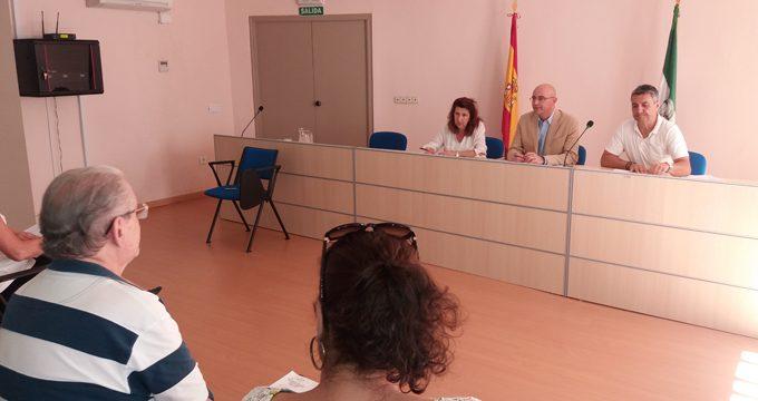 Impulso a la actividad y funciones de la comisión permanente del Consejo Provincial de Mayores de Sevilla