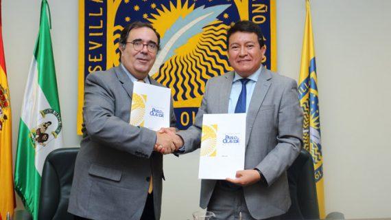La UPO y la Universidad Nacional de Frontera de Perú desarrollarán actividades formativas y de investigación