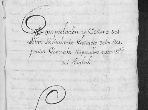 Arahal exhibe un importante documento catastral con motivo del Día de los Archivos