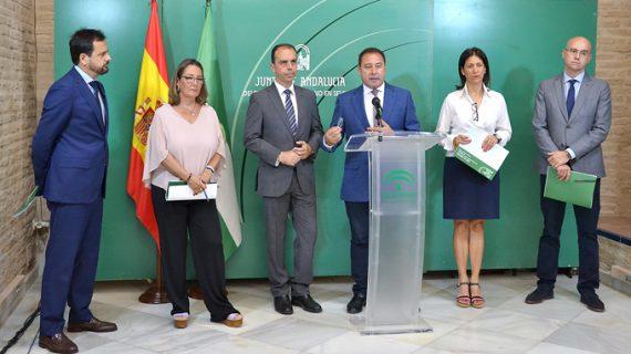 Los presupuestos andaluces impulsan el proyecto del tranvía de Alcalá y eliminan la tercera cama del Virgen Macarena