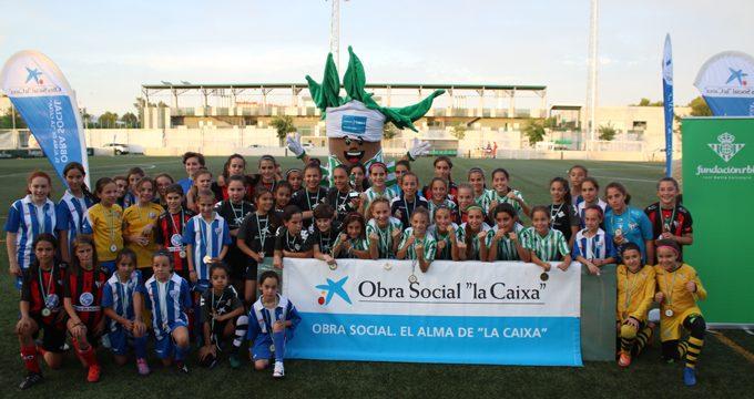 El alevín del Real Betis Féminas y la inclusión social vencen en el I Torneo Real Betis Integra