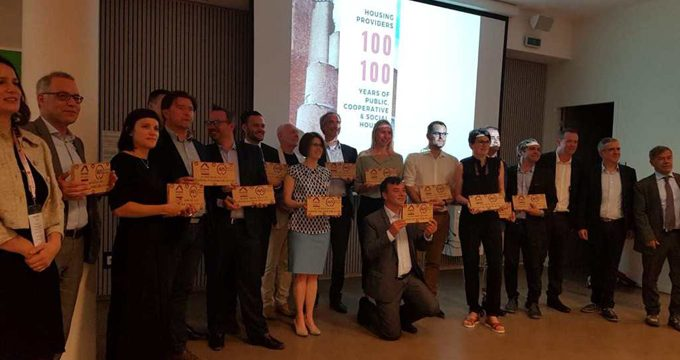 La Empresa Municipal de la Vivienda de Sevilla, premiada en el Festival Internacional de Vivienda Social celebrado en Lyon