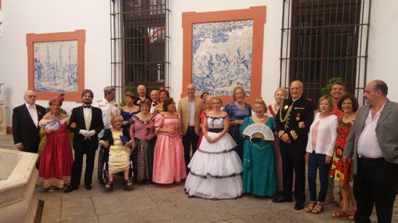 Más de 30 mayores participan en la representación de 'La Traviata' en el Hospital de la Caridad