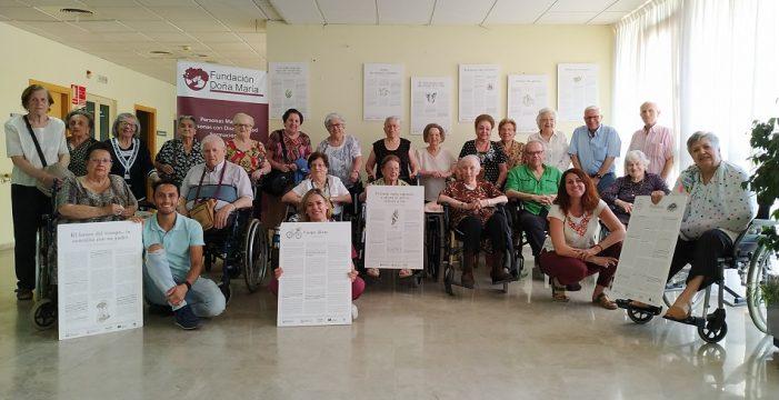 Fundación Doña María recibe la muestra itinerante '20 Historia de Compasión'
