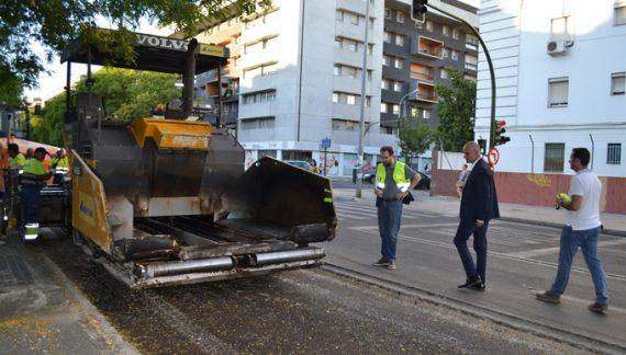 Comienzan las obras de repavimentación de calzadas en calles del Porvenir
