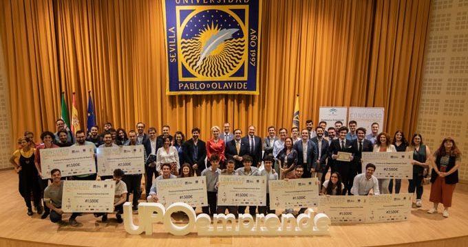 La UPO concede nueve premios en el XI Concurso UPOemprende
