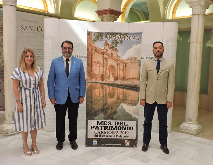 Carmona abre algunos de sus monumentos por primera vez al público para celebrar su 'Mes del Patrimonio Histórico'
