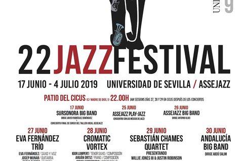 El jazz, la fotografía y el cine se dan la mano en el 22 Festival de Jazz de la Universidad de Sevilla