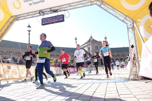 El Parque de María Luisa acoge la cuarta prueba puntuable del circuito Sevilla10