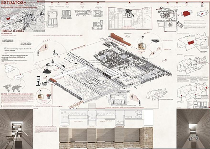 Un proyecto sobre Medina Azahara gana el V Concurso de Ideas de la Cátedra Metropol-Parasol