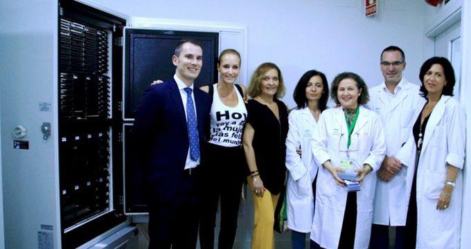 Donan un ultracongelador para la preservación de muestras biológicas al Hospital Macarena